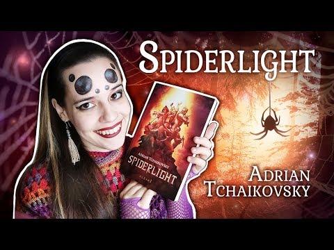 Reseña de libro – SPIDERLIGHT de Adrian Tchaikovsky
