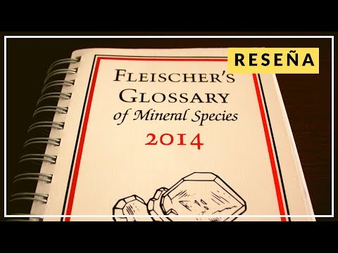 Glosario de Especies Minerales de Fleischer's – Reseña del libro